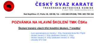 školení TMK Brno listopad
